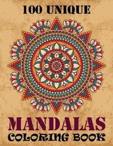 100 Unique Mandalas Coloring Book