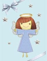 Angel Notebook: 120 Pages composition book for kids ( little Angels) for Writing