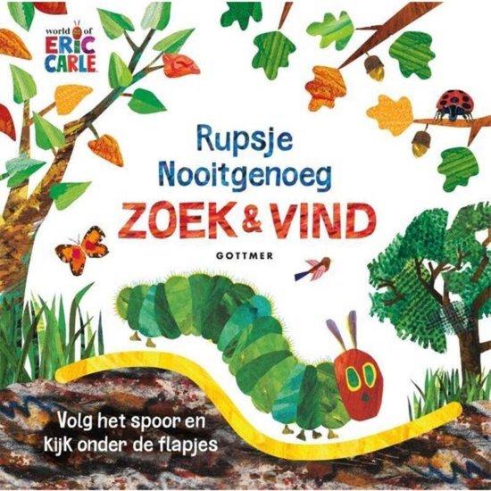 Afbeelding van Flapjesboek Rupsje Nooitgenoeg Zoek en Vind speelgoed