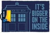 Doctor Who Tardis - Deurmat