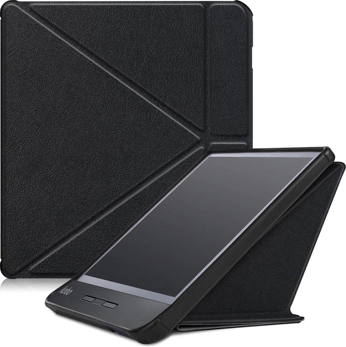Kobo Libra H2O Hoesje Case Sleep Cover Premium Hoes - Zwart