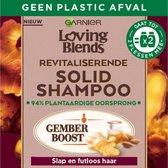 Garnier Loving Blends Revitaliserende Solid Shampoo Bar Gember - 1 stuk