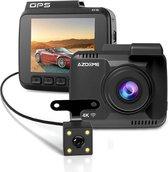 AZDome Dashcam voor auto GS63H 4K 2CH Wifi - GPS