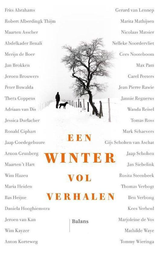 Boek cover Een winter vol verhalen van Frits Abrahams (Hardcover)