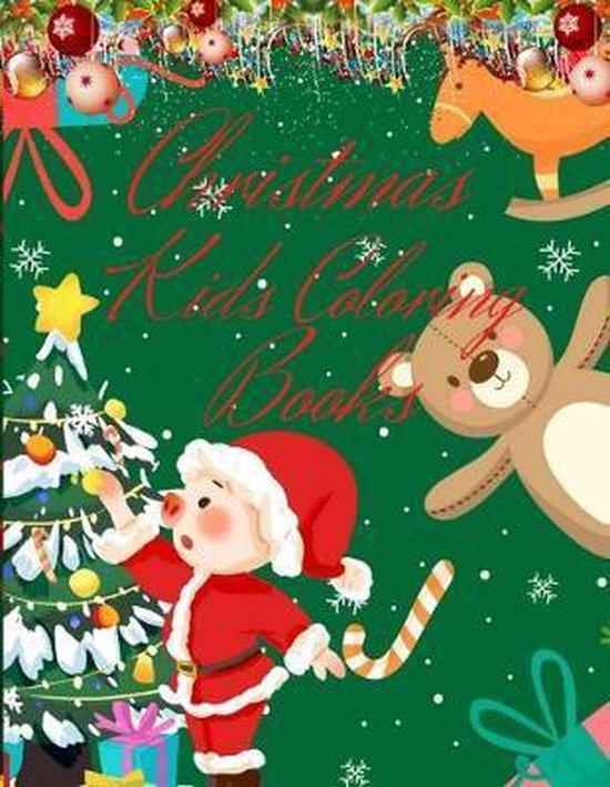 Christmas Kids Coloring Books