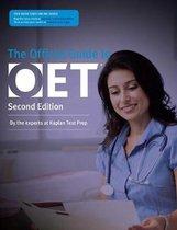 Boek cover Official Guide to OET van Kaplan Test Prep