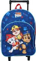 PAW Patrol Pups Rule - Rugzaktrolley - 8,25 l - Navy blauw