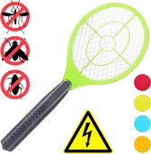 relaxdays elektrische vliegenmepper - tegen muggen   vliegen - vliegen mepper elektrisch groen