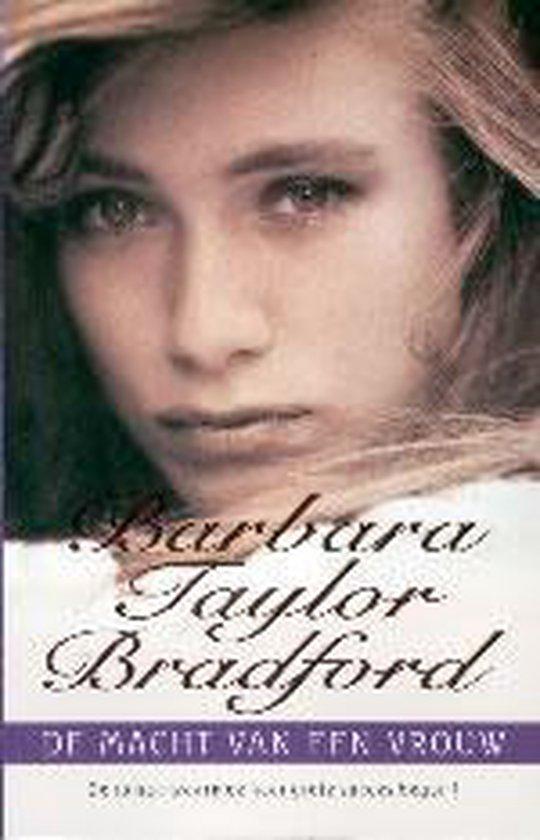 Cover van het boek 'De macht van een vrouw' van Barbara Taylor Bradford