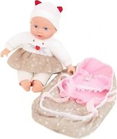 Lovely Baby Baby Doll 32cm With Travel Cot