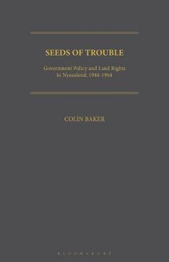 Boek cover Seeds of Trouble van Colin Baker (Paperback)