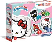 Legpuzzel My First Puzzle Hello Kitty 4 Puzzels - Multicolor