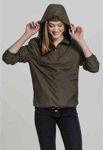 Urban Classics Pullover Jas -5XL- Basic Groen