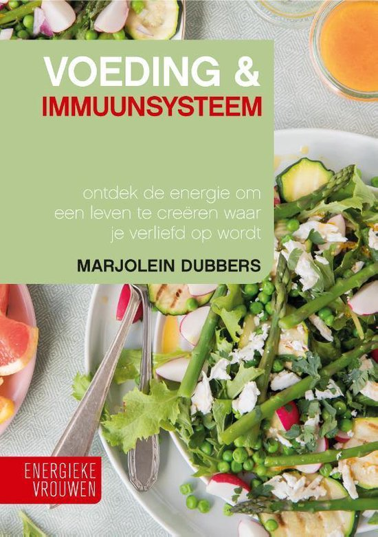 Boek cover Voeding & Immuunsysteem van Marjolein Dubbers (Hardcover)