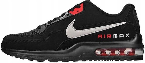 Nike Air Max LTD 3 sneakers heren zwart/rood  maat 42.5