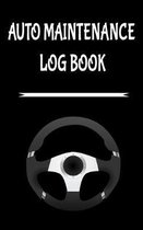 Auto Maintenance Log Book: 5'' x 8'' Glove Box Sized 10 Year Service & Repair Record with Trip Mileage & Gas Log for All Vehicles, Cars & Trucks -