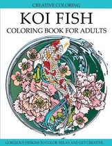 Koi Fish Coloring Book for Adults