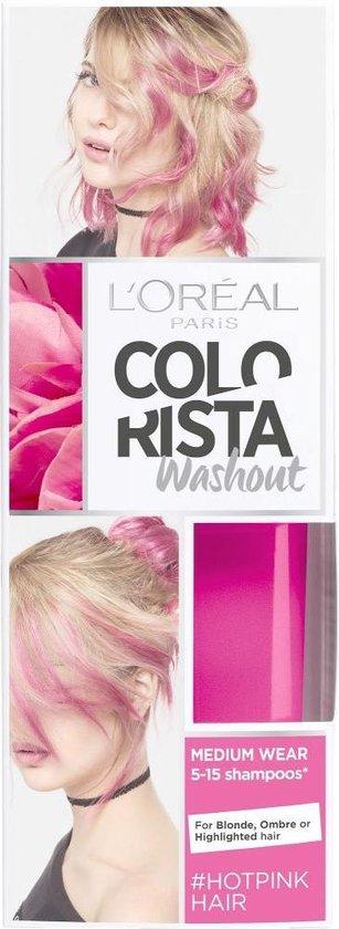 L'Oréal Paris Colorista Washout - Hotpink - 1-2 weken Haarkleuring - L'Oréal Paris