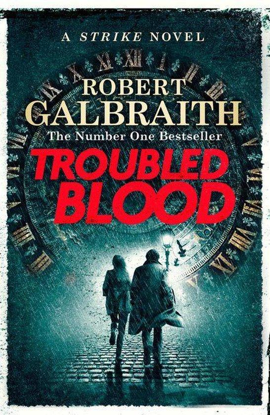 Boek cover Troubled Blood van Robert Galbraith (Onbekend)
