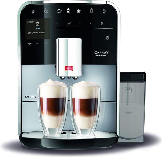 Melitta Barista T Smart F830-101 - Espressomachine - Zilver
