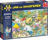 Jan van Haasteren legpuzzel Kamperen in het Bos Pu