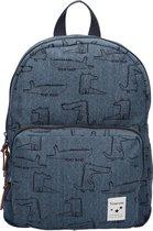 Kidzroom Animal Academy Kinderrugzak 34 cm - Blauw