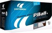 Cornilleau P-Ball ABS Evolution 1* Tafeltennisballen 72 stuks - Wit