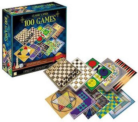 Afbeelding van het spel 100 klassieke gezelschapsspellen - verzameldoos met bordspellen