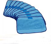 Microvezeldoeken Voor iRobot Braava 4200/5200/320/380/380T/390T - Microfiber Microvezel Doekjes Set - Nat 10 Stuks - Blauw
