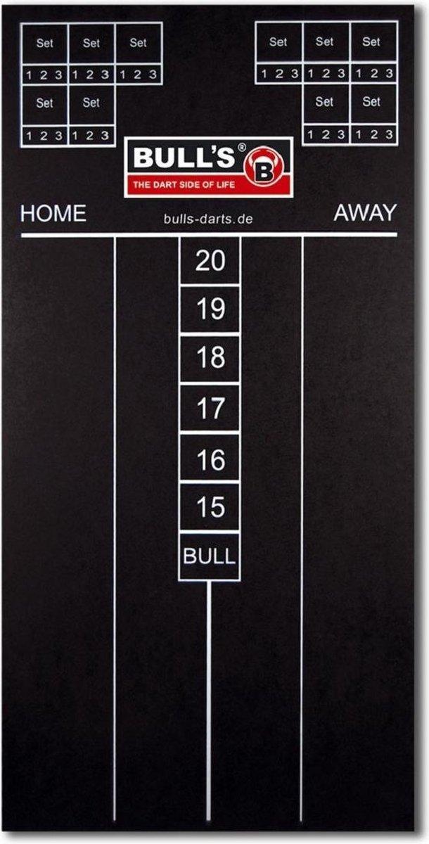 Bull's Darts Scorebord 60 Cm Met Krijtjes