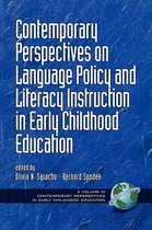 Omslag Contemporary Perspectives on Language Policy and Literacy Instruction in Early Childhood Education