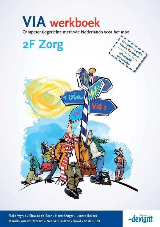 VIA - 2F Zorg - Werkboek - Rieke Wynia  