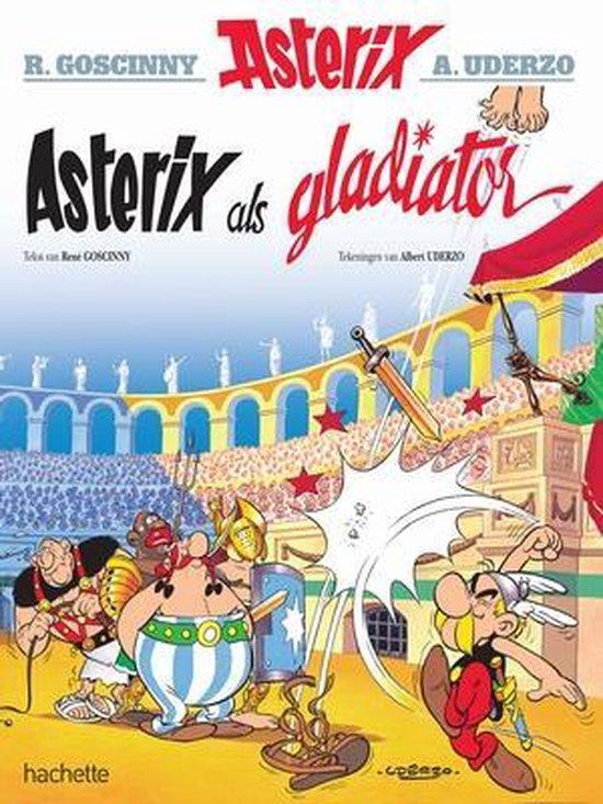 Boek cover Asterix 04. Asterix als gladiator van Albert Uderzo (Onbekend)