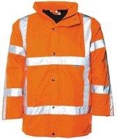 M-Wear parka 0986 Oxford nylon RWS fluo oranje maat XL