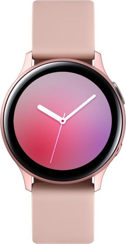 Samsung Galaxy Watch Active2 - Aluminium - Smartwatch dames - 40 mm - Rosegoud