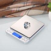 3000g X 0.1g Digitale Pocketweegschaal Sieraden Gewicht Elektronisch Display Balance Gram Lab