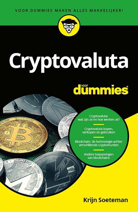 Cryptovaluta voor Dummies - Krijn Soeteman |