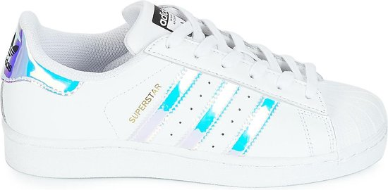 adidas - Dames Sneakers Superstar - Wit - Maat 38 2/3