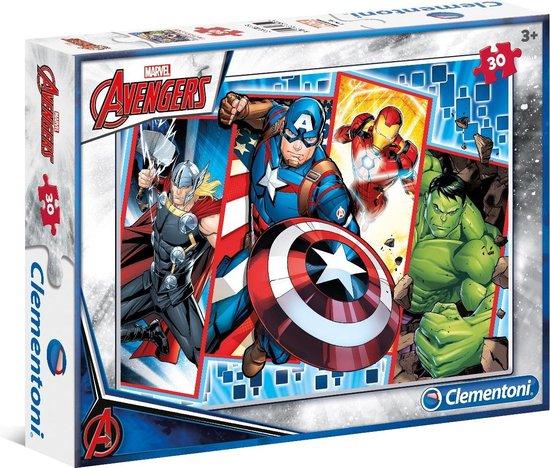 Clementoni Puzzel Supercolor Puzzle Avengers 30 Stukjes