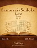 Samurai-Sudoku Luxus - Schwer - Band 8 - 255 R tsel