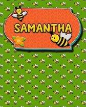 Handwriting Practice 120 Page Honey Bee Book Samantha