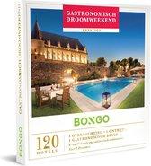 Bongo Bon Nederland - Gastronomisch Droomweekend Cadeaubon - Cadeaukaart cadeau voor koppels | 120 luxueuze hotels