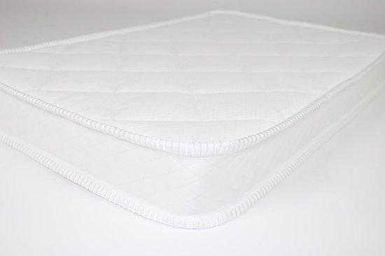 Matrassenmaker - matras 50x80 koudschuim HR40 vaste hoes van dubbeldoek