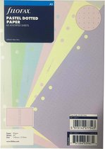 Afbeelding van Aanvulling A5 Dotted Pastel Gekleurd Notitiepapier voor o.a. Clipbook Planners 60 vel 80 g/m²
