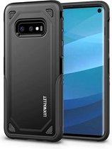 LUXWALLET® Samsung Galaxy S10e Case - Desert Armor Drop Proof Hoes - Nightfall Black