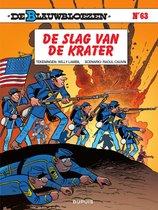 Blauwbloezen, De 63 -   De slag van de krater