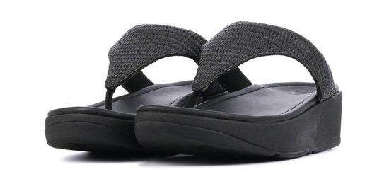 FitFlop TM Vrouwen Slippers - Imogen toe weave - Zwart - Maat 36 Iae8Buu1