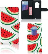 Motorola One Zoom Book Cover Watermelons