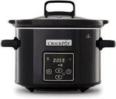 Crock-Pot Slowcooker - 2,4L - Zwart - Digitaal