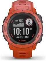 Garmin Instinct GPS - Sporthorloge - Flame Red - 45mm